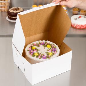 10X10X5 Cake Box 100/case