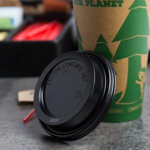 Hot cup lids, fits 10, 12, 16, 20, & 24 oz. cups