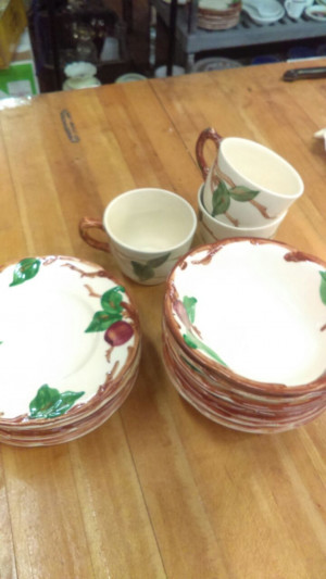 Franciscan Apple Cup & Saucer