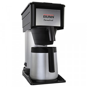 Coffee Brewer, Thermal, Black