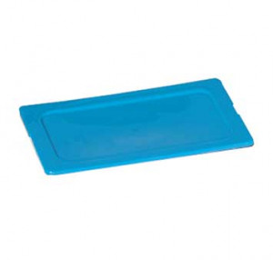 Smart lid for food pan, 1/6 size, Blue