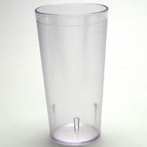 Tumbler, Stackable, 16 oz Crystal clear, 72/cs