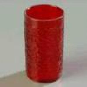 Tumbler, plastic 8 oz. Ruby
