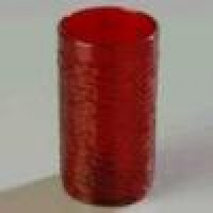 Tumbler, plastic 12 oz. red