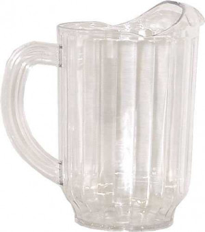 VersaPour Pitcher, 60 oz., polycarbonate