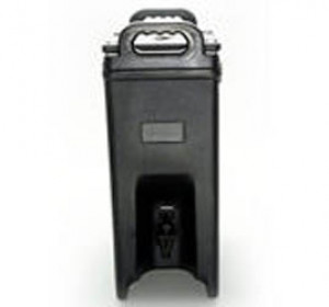 Cateraide beverage server 5 gal, Insulated, Brown