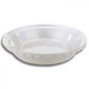 "Classic pie dish 9"" white"