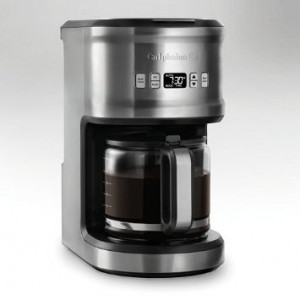 Coffee Maker 12 cup black glass programmable