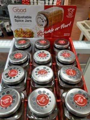 Spice jar, Adjustable, Shake or Pour
