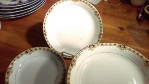 "Noritake The Ceylon 7 5/8"" Lunch Plate"