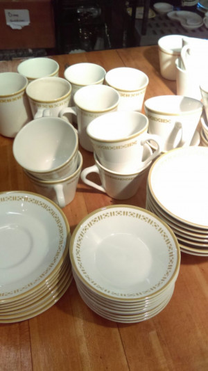 Honeycomb Cup & Saucer