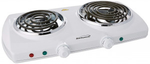 Hot Plate, Double Burner Aroma, electric