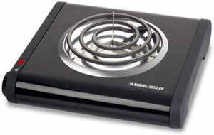 Hot Plate, Single Burner Black & Decker