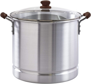 32 Qt. Seafood & Tamale Steamer w/ Glass Lid
