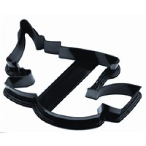 WITCH COOKIE CUTTER, PLASTIC