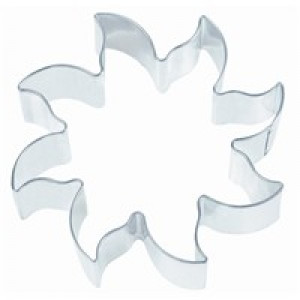 Sun cookie cutter, 3""