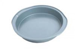 "Round cake pan, Nonstick, 9"""