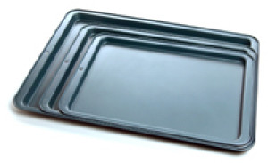 "Cookie sheet, Nonstick, 15""x10"""