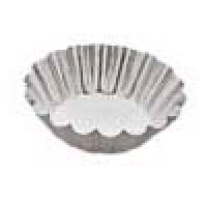 "Tart tin, 3 1/2"" diameter"