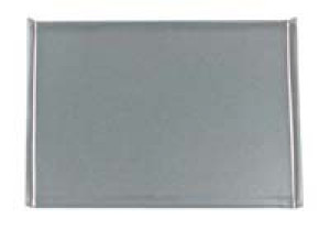 "Toaster oven tray, 6.5""x10"", Tinned steel"