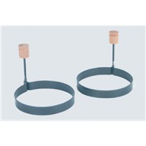 Egg rings, Set of 2, Nonstick