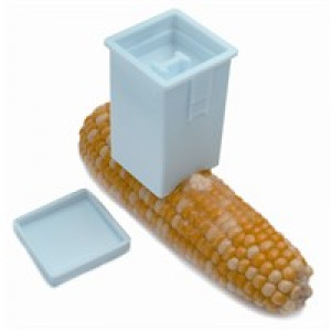 Corn cob butter spreader