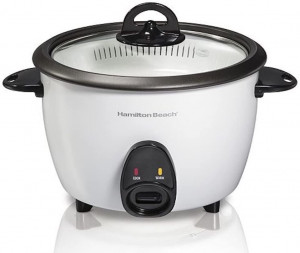 Rice Cooker & Food Steamer, 16 cups