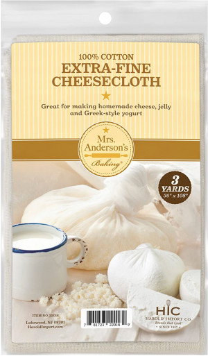 "Extra Fins Cheesecloth, 3 yards, 36"" x 108"""
