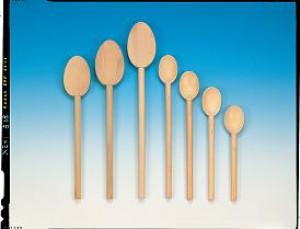 "Wooden spoon, 17.75"""