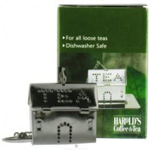 Tea house infuser w/ Caddy, S/S