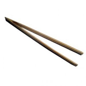 """Bamboo toaster tong 6.5"""""""