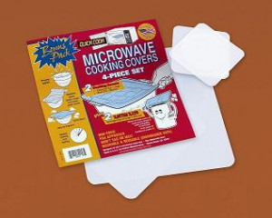 Quick Cook Microwave cover Kit, 4 pieces