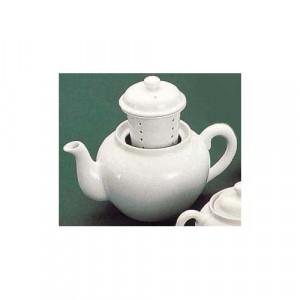 Teapot w/Infuser, 32 oz., White