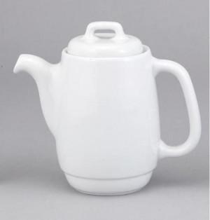 Teapot, Lock-top 12 oz. white