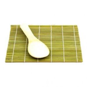 Sushi mat, Bamboo w/ Rice Paddle