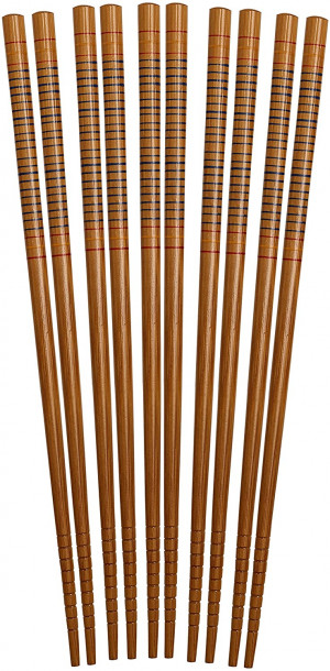 Bamboo chopsticks, 5 pair