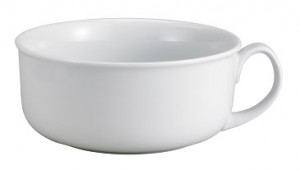 Oversized Cereal & Soup mug, white, 28 ounce