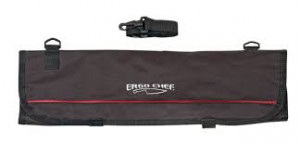 Polyester Knife Roll Case 9 piece, Black