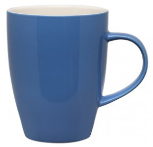 Mug, 11 oz., Bayberry blue w/ white interior