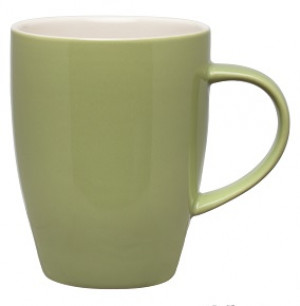 Mug, 11 oz., Sage Green w/ white interior