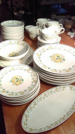 """Harvest Gold 10"""" Dinner Plate"""