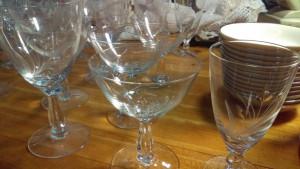 Fostoria Spray Water Goblet