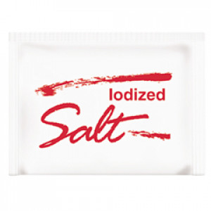 Salt packets, 3pk/1000