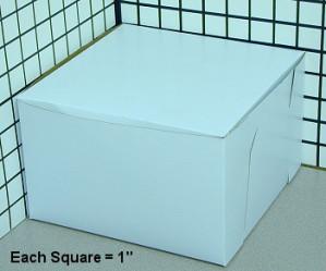 8X8X5 CAKE BOX CAKE, 100/case