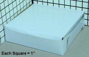 9X9X2.5 Cake Box, 250/cs