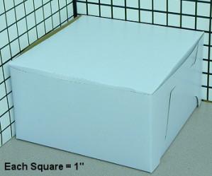 9x9x5 Cake box, 200/cs