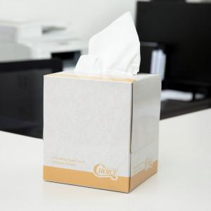 Facial Tissue cube box 36 boxes per case