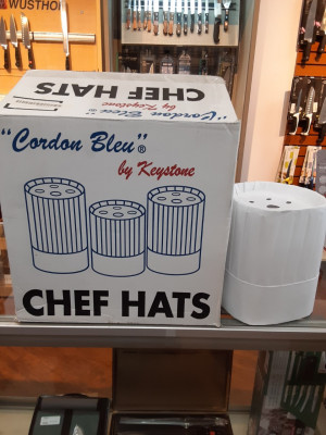 "7"" Chef hats, Paper, 24ea/case"