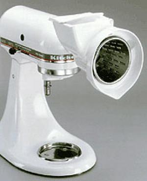 Rotor, slicer shredder w/ 4 standard cones