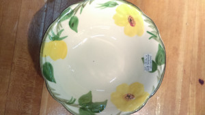 Franciscan Meadow Rose Soup Bowl